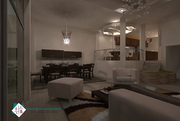 Sala de Estar: Salas de estilo  por ISLAS & SERRANO ARQUITECTOS