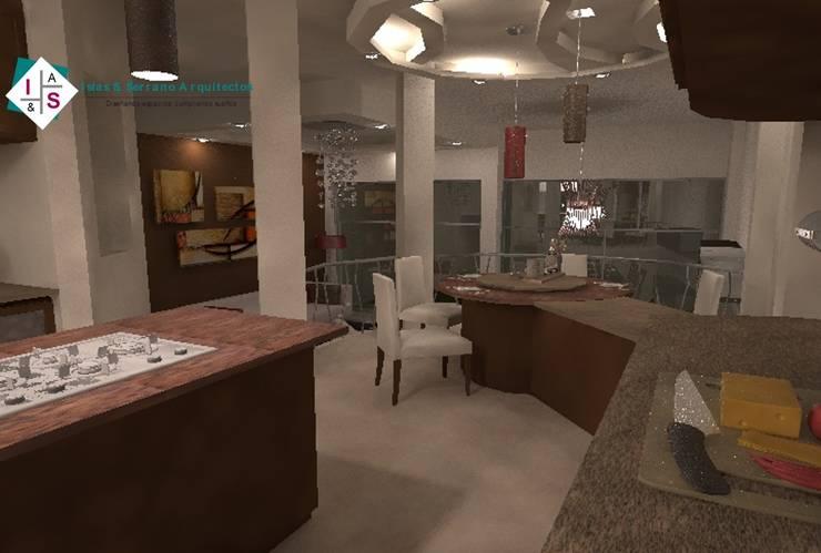 Interiorismo CF: Cocinas de estilo  por ISLAS & SERRANO ARQUITECTOS