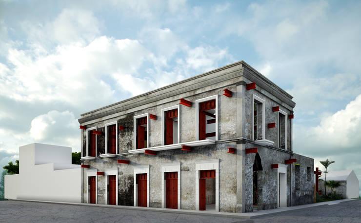 Houses by mousa / Inspiración Arquitectónica
