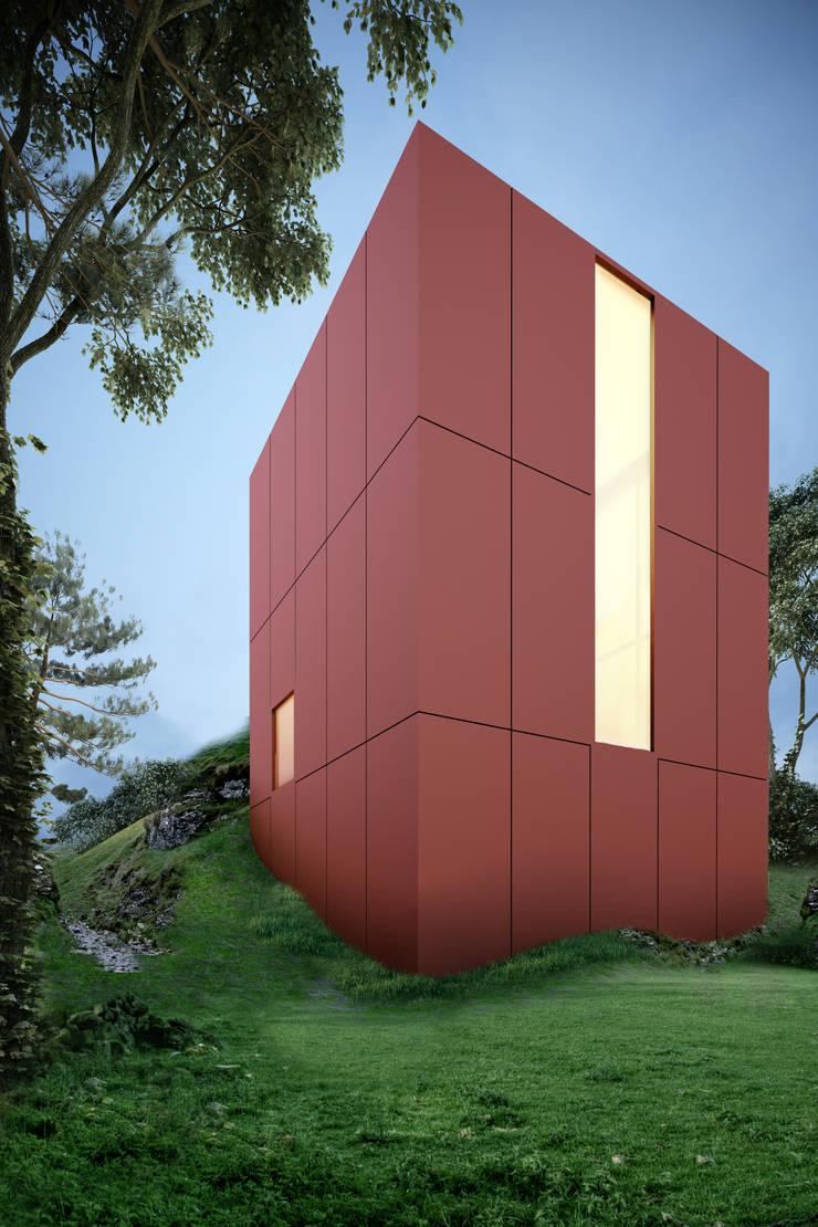 Red House: Casas de estilo  por mousa / Inspiración Arquitectónica