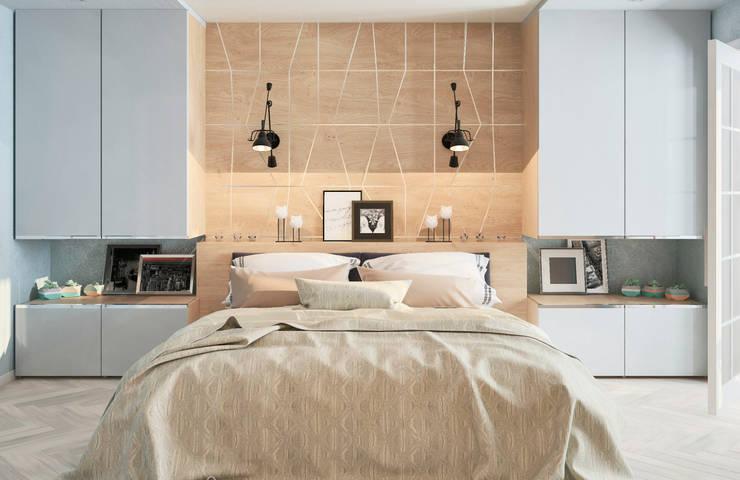 Студия дизайна Дарьи Одарюк의  침실