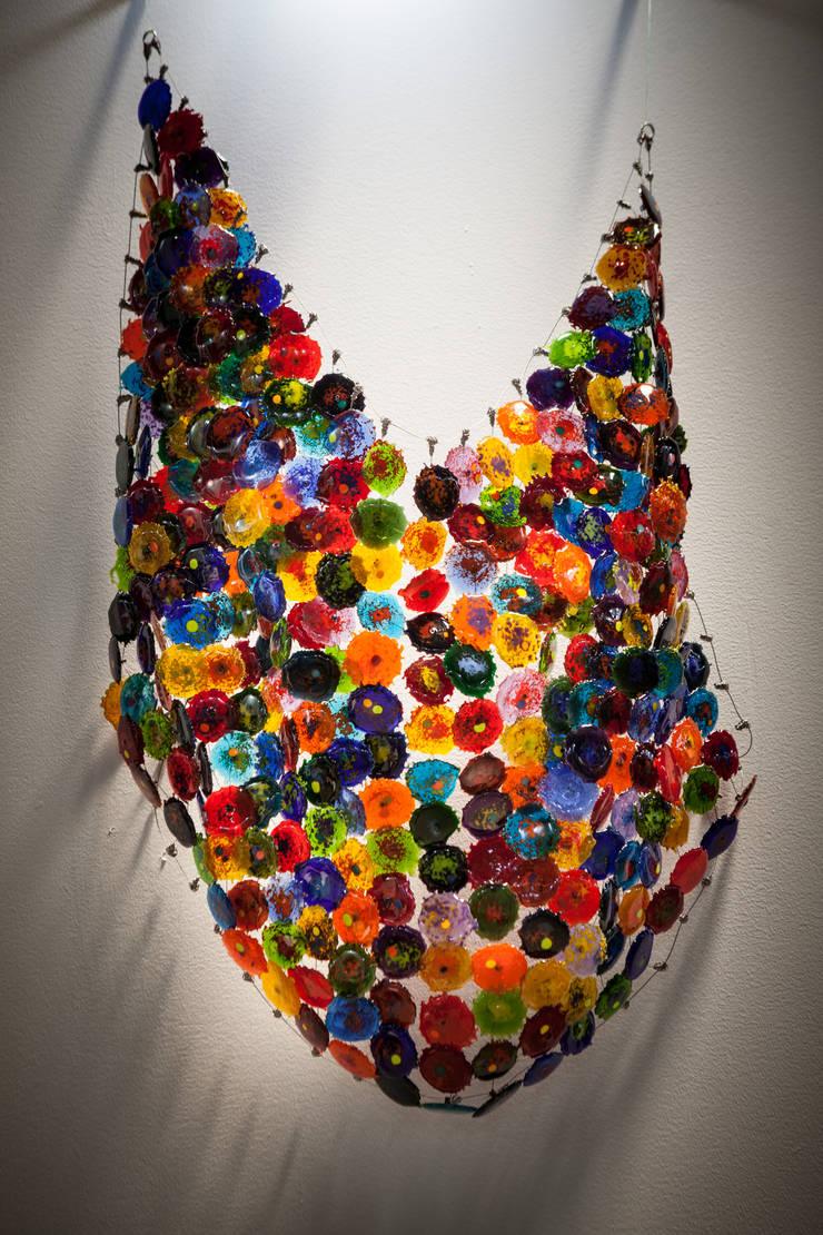 Textiles de vidrio fundido: Arte de estilo  por Ana Maria Nava Glass