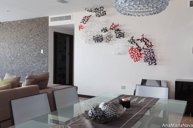 Estructuras orgánicas, Arrecife: Arte de estilo  por Ana Maria Nava Glass