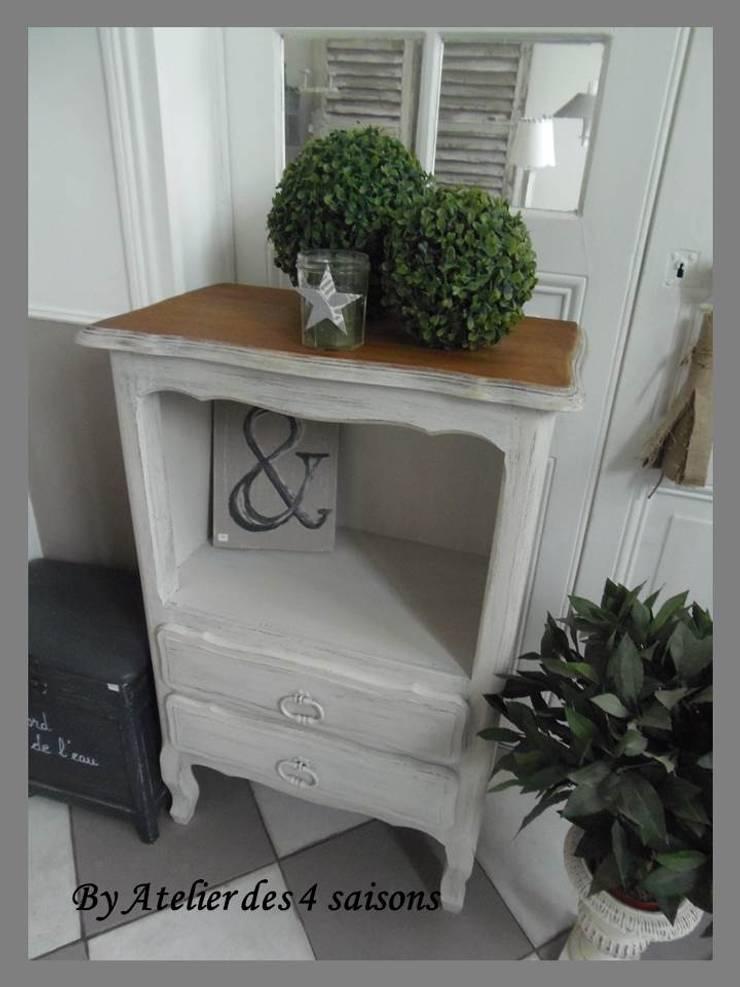 meuble chiffonnier ch ne patin gris perle by atelier des 4 saisons homify. Black Bedroom Furniture Sets. Home Design Ideas