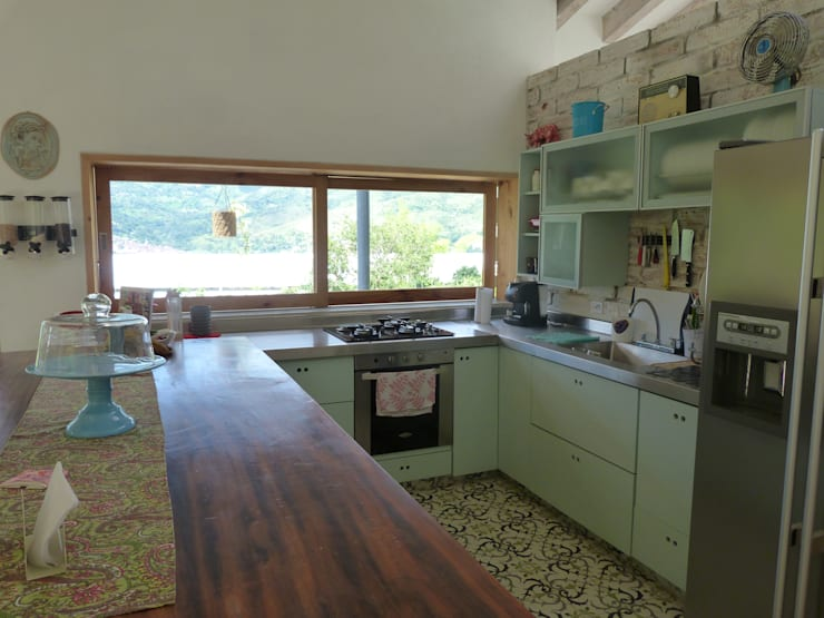 مطبخ تنفيذ interior137 arquitectos