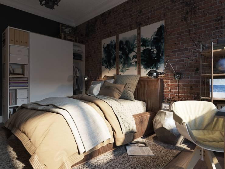 Дизайн-мастерская 'GENESIS'의  침실