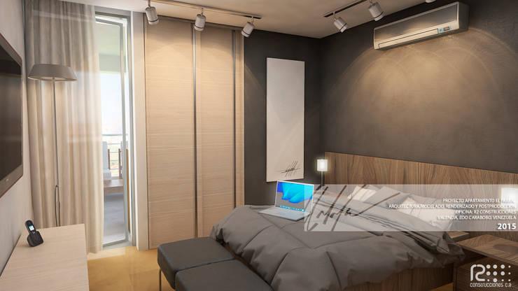 Schlafzimmer von Arq.AngelMedina+