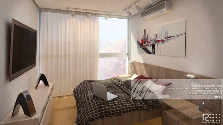 Dormitorios infantiles de estilo  de Arq.AngelMedina+, Minimalista Madera Acabado en madera