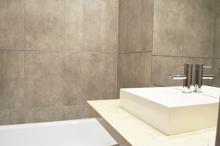 Baño: Baños de estilo  por Estudio Nicolas Pierry,