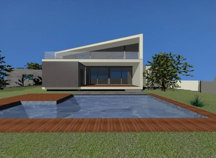 casa em Macieira:   por LouProj - arquitectura e engenharia lda