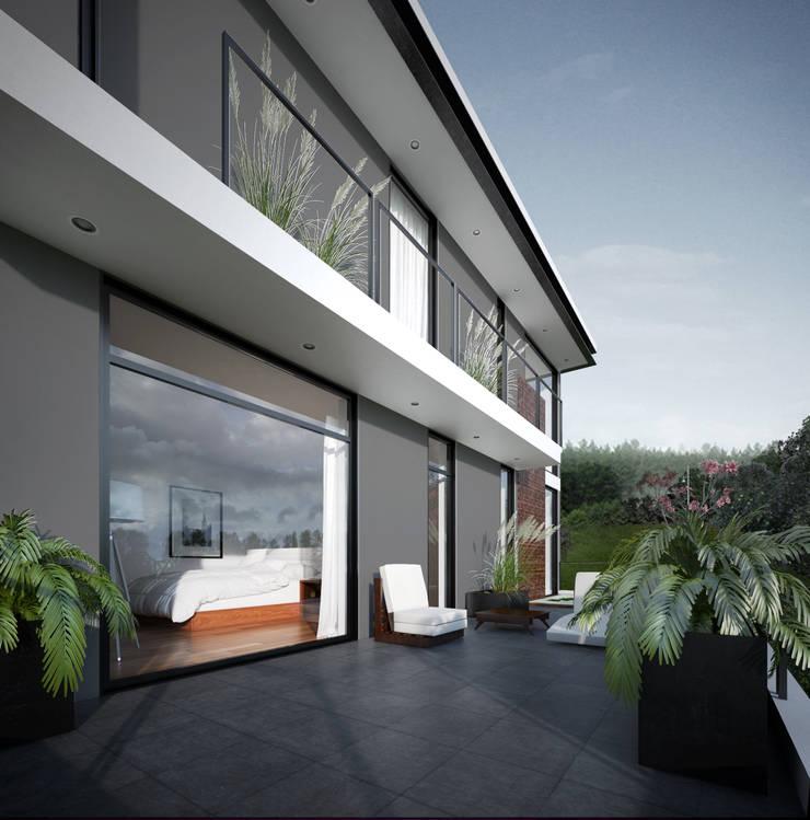 Terraza :  de estilo  por ORTHER Architects