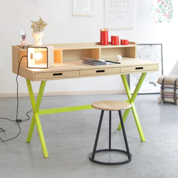 Studio in stile  di Das rote Paket - Junges Design für Daheim