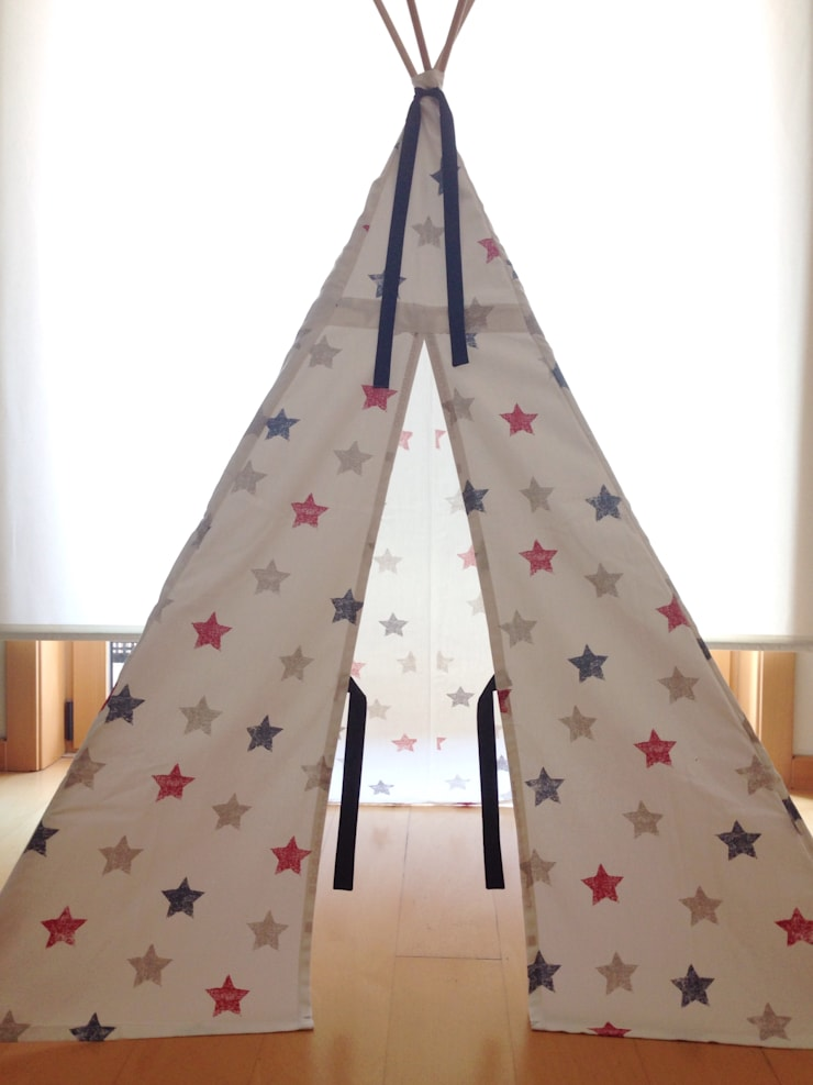Estrelas: Quarto de crianças  por Trapinho