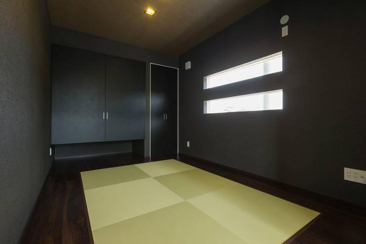 和室: i.u.建築企画が手掛けた壁&床です。