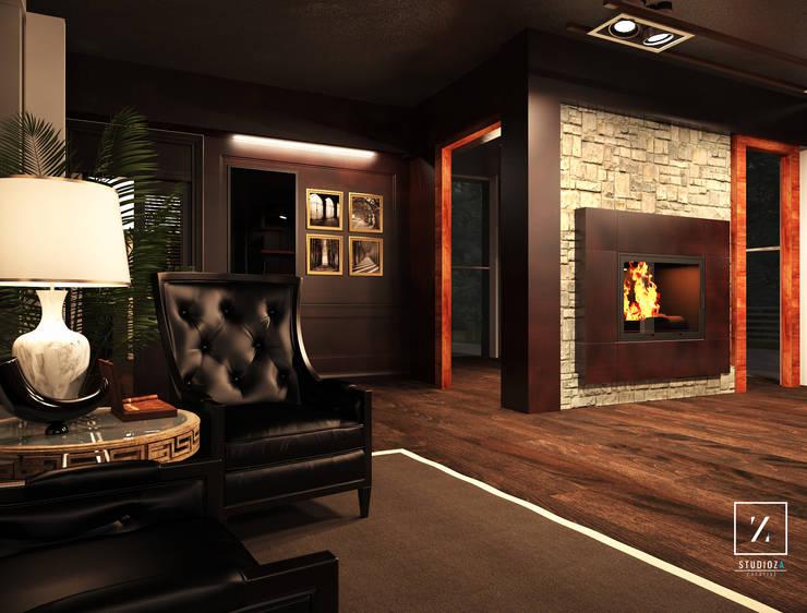 Dormitorios de estilo  por Geometra Alessandro Zanetti