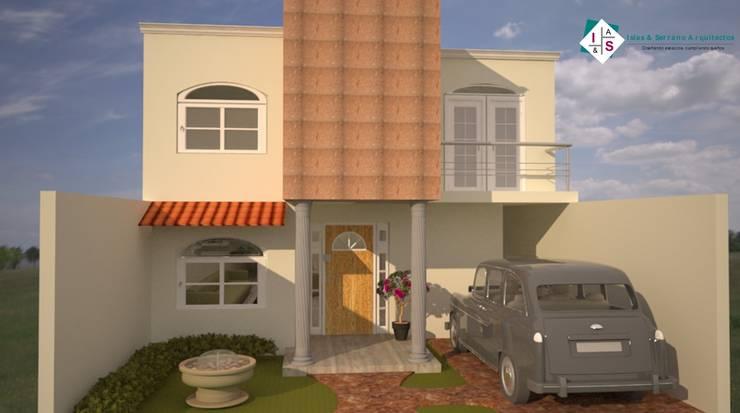 Houses by ISLAS & SERRANO ARQUITECTOS,