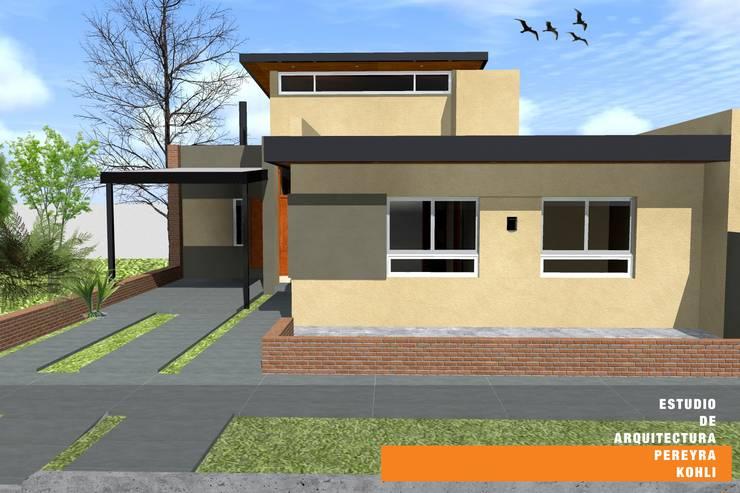 CASA TK Casas eclécticas de Estudio de Arquitectura Pereyra Kohli Ecléctico