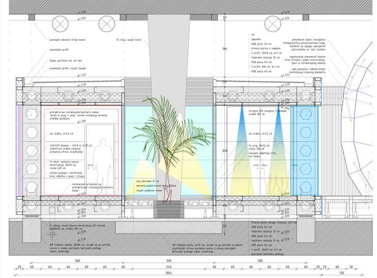 Architektur Schnitt 2 By Bgt Bau Grueters Tuemmers