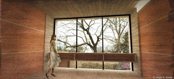 COMEDOR: Comedores de estilo  por 75 Arquitectura