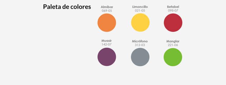 Paleta de colores:  de estilo  por MARIANGEL COGHLAN