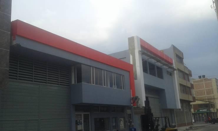 Fachada Fibrocemento ETERBOARD:  de estilo  por Construfacil/Drywall  SAS