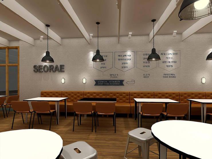 SOERAE BBQ_SI MANUAL: 2wavestudio (투웨이브스튜디오)의  상업 공간