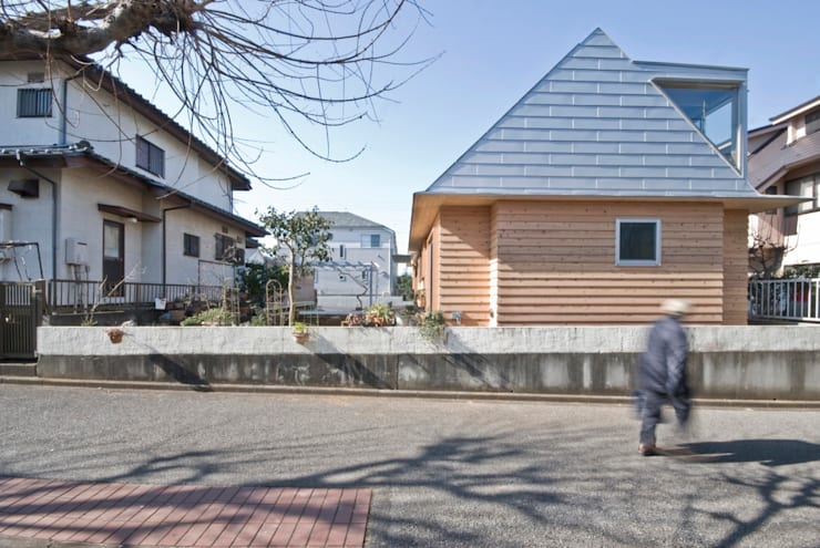 Casas de estilo  por 千田建築設計