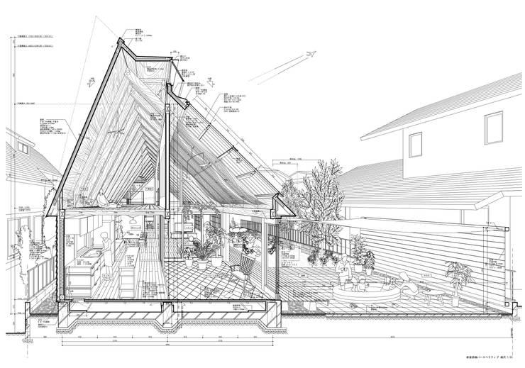 Дома в . Автор – 千田建築設計