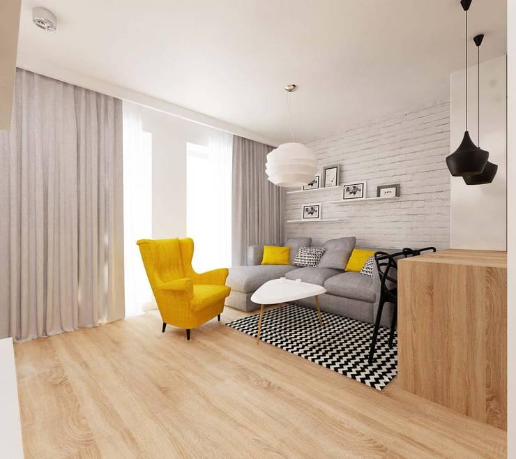 Wohnzimmer von Ale design Grzegorz Grzywacz