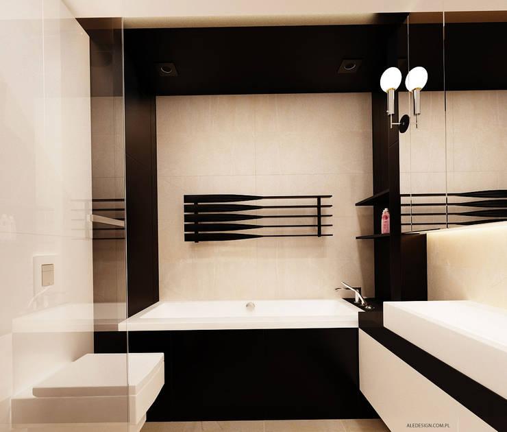 Łazienka glamour: styl , w kategorii Łazienka zaprojektowany przez Ale design Grzegorz Grzywacz,Nowoczesny