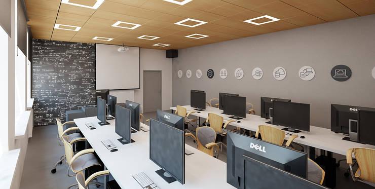 Salle multimédia de style  par Ale design Grzegorz Grzywacz