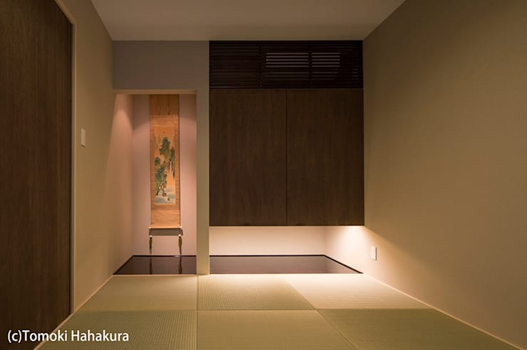 仲間が集う「よりあい」の家: I Live Architects/田辺弘幸建築設計事務所が手掛けた和室です。