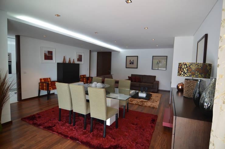 Altavista 9: Salas de jantar  por BLK-Porto Arquitectura