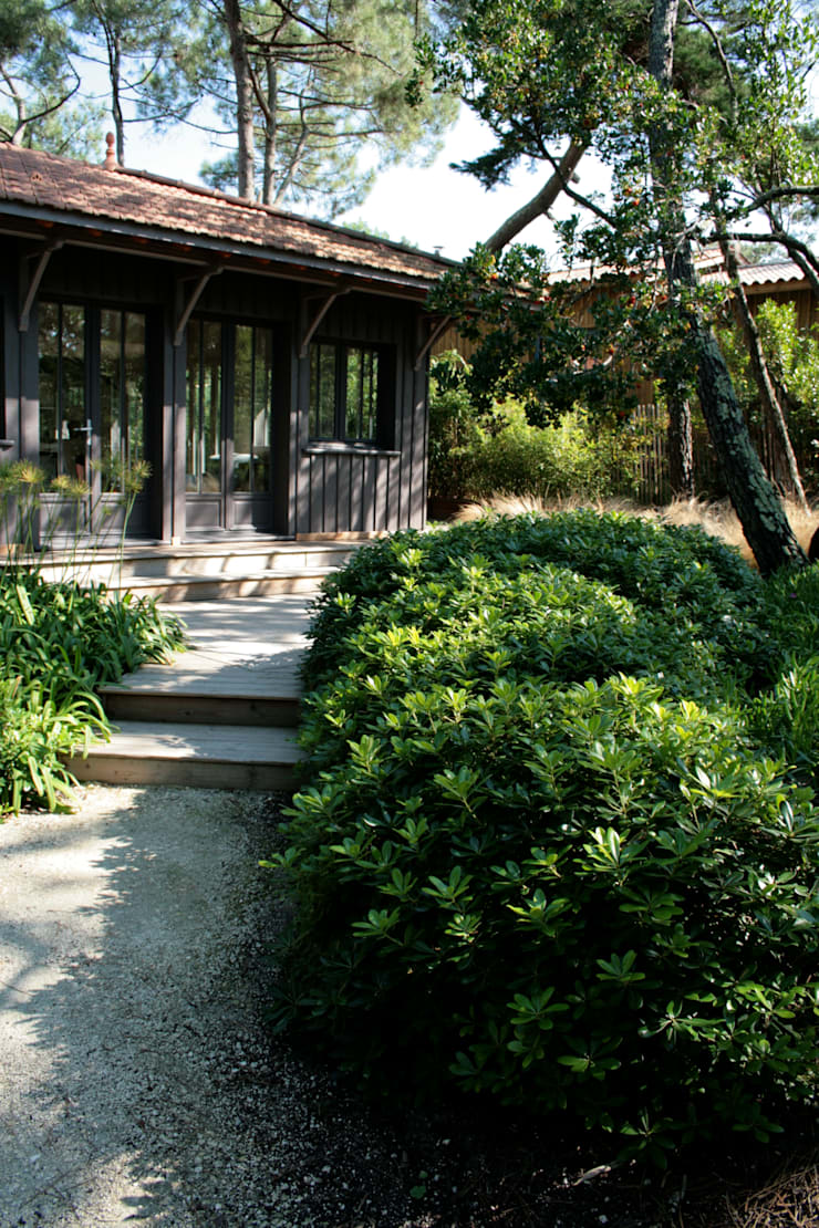 Mer végétale: Jardin de style  par Anthemis Bureau d'Etude Paysage