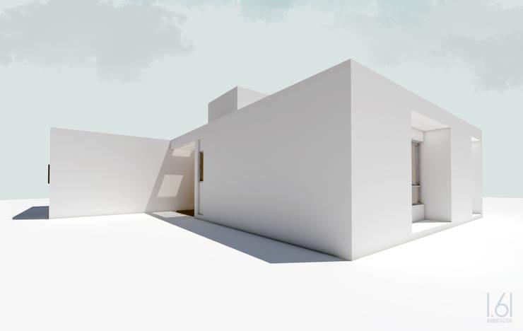 Vista sur / este: Casas unifamiliares de estilo  por 1.61 Arquitectos