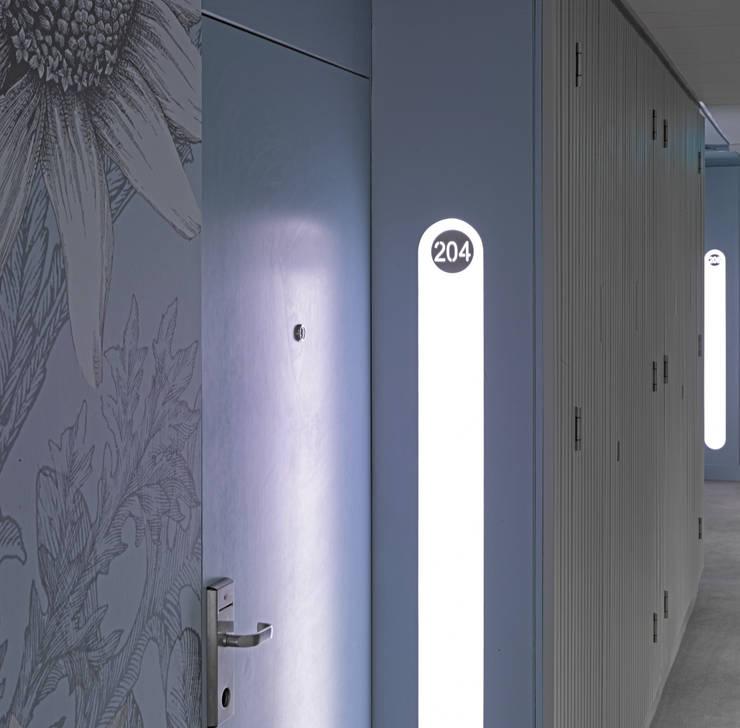 Main Corridor Detail:  Hotels by STUDIO 9010