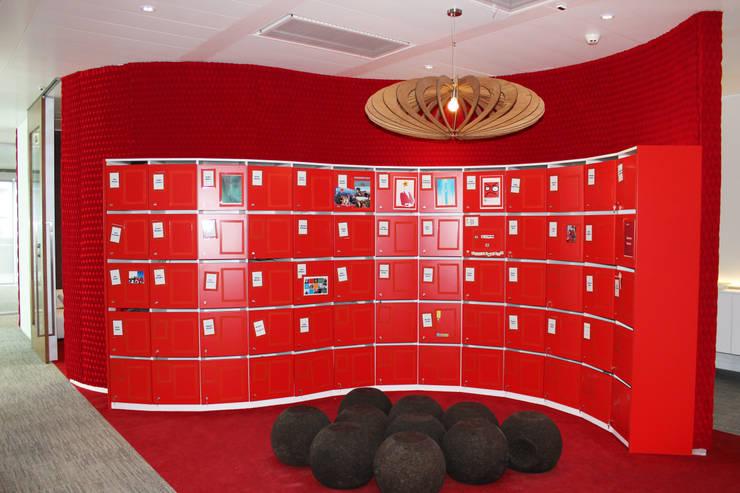 Revestimentos de parede - Microsoft Lisboa: Escritórios e Espaços de trabalho  por Burel Factory