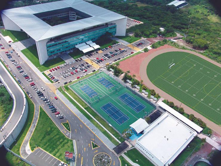 Campus Cuernavaca, Tec de Monterrey Escuelas de estilo moderno de juancarlosperez Moderno