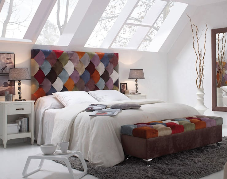 eclectic Bedroom by 1 TAPIZA S.L.