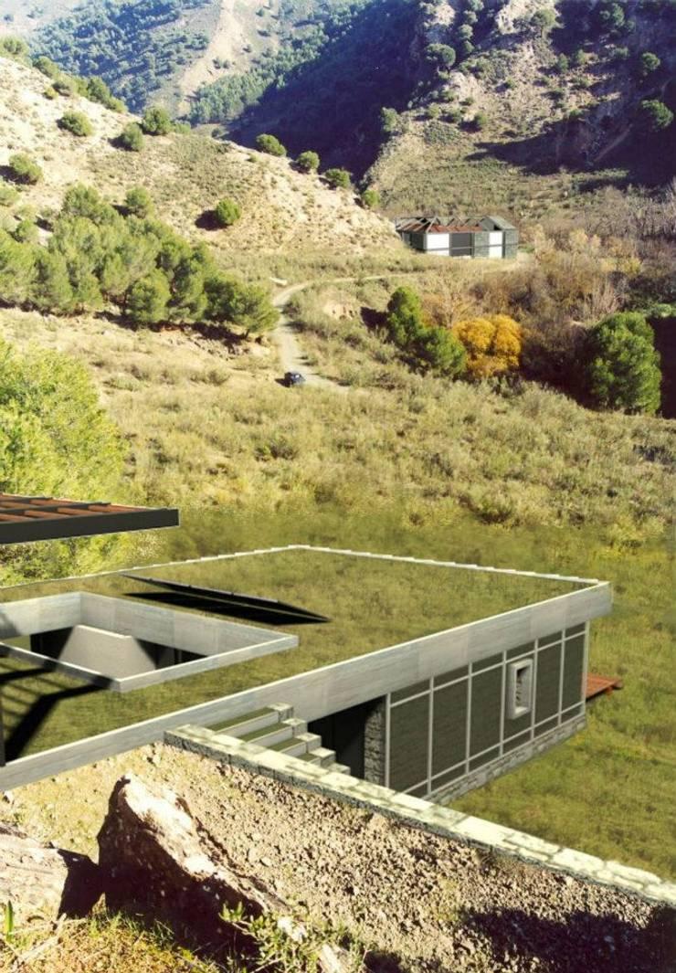 EXTERIOR RENDERING:  de estilo  por ARO - Architectural Rendering Office,