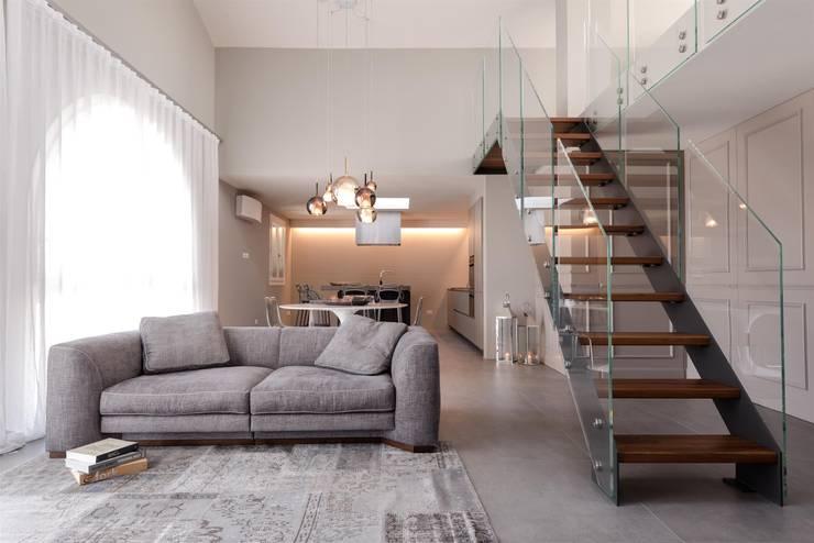 Salas de estar minimalistas por studiooxi