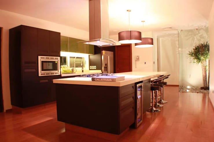LOFT DC: Cocinas de estilo  por Pablo Anzilutti | Arquitecto