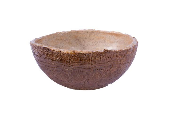 Cuba Bowl Renda Tabacco com Capuccino: Banheiro  por Atelier Daniele Drummond,