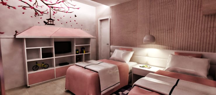 PILOTTIZ ARQUITETURA E DESIGN 의  침실
