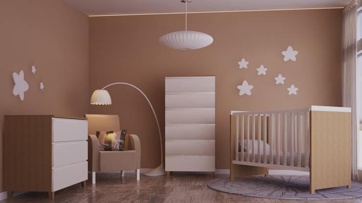 Mobiliário Infantil: Quarto de crianças  por Mdimension