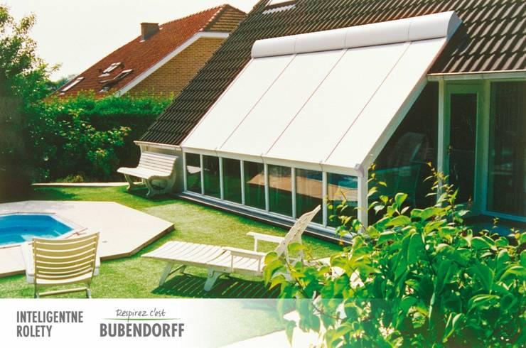 modern Conservatory by Inteligentne Rolety Bubendorff