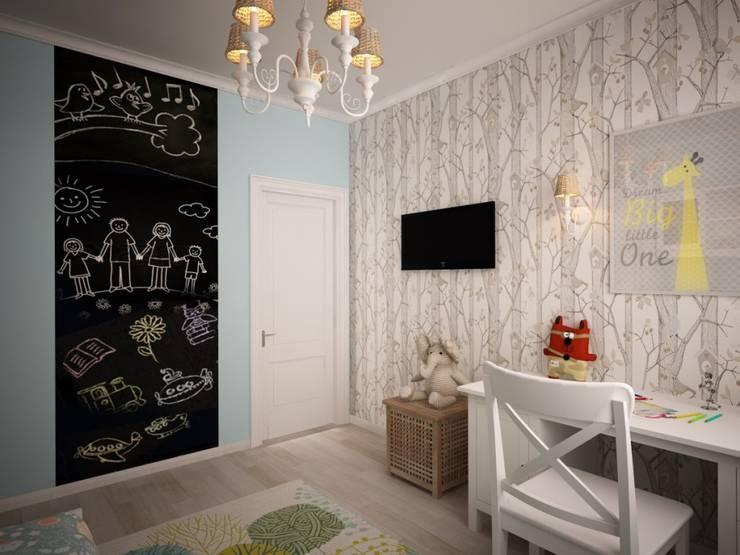 Habitaciones infantiles de estilo  por дизайн-бюро ARTTUNDRA