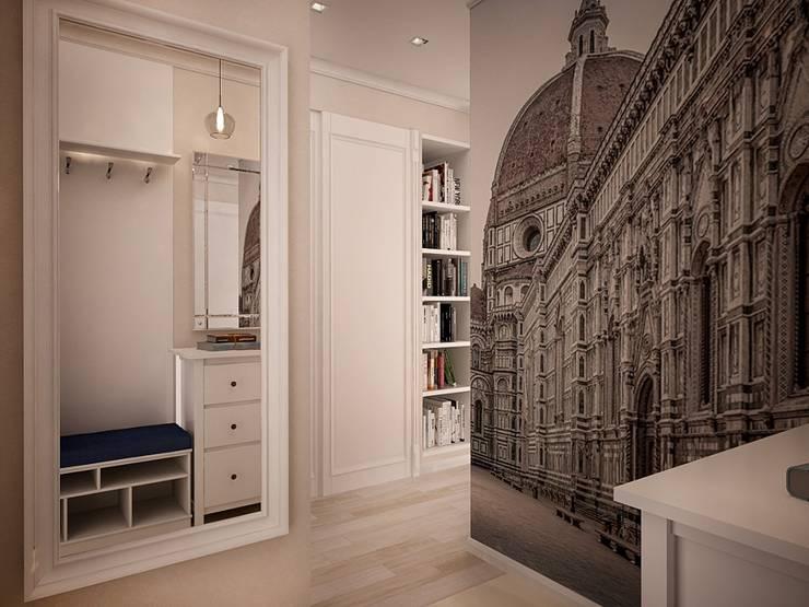Corridor & hallway by дизайн-бюро ARTTUNDRA