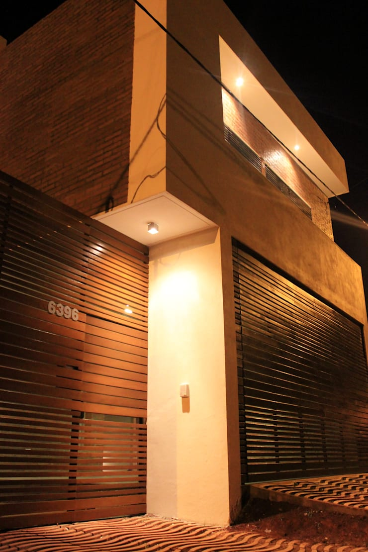 Vivienda La Colmena: Casas de estilo  por medrArq,Minimalista