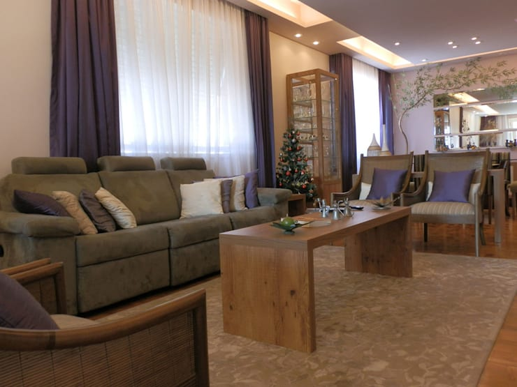 MBDesign Arquitetura & Interiores:  tarz Oturma Odası